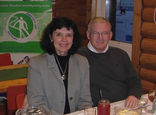 With Suzanne in Finland in 2007 where I was teaching at Joensuu University as a Fulbright Sr. Specialist